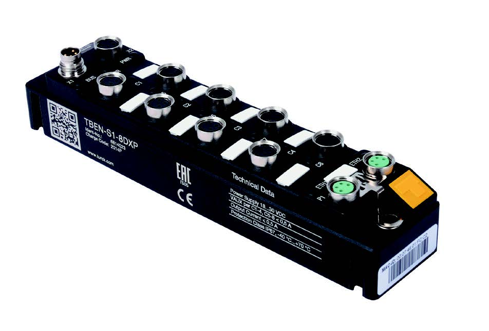 Turck - Ultra-Compact Multiprotocol I/O Modules